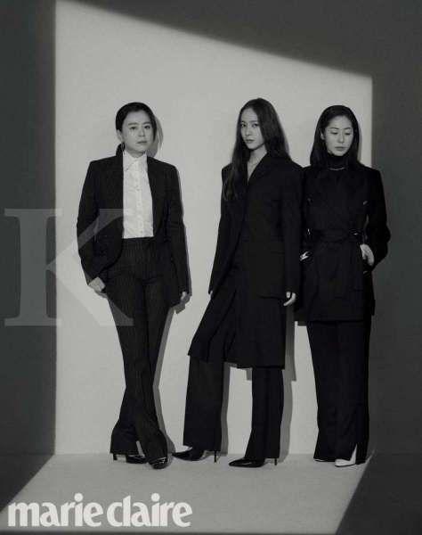 Jang Hye Jin, Krystal, dan Kang Mal Geum pemeran film Korea terbaru More Than Family.