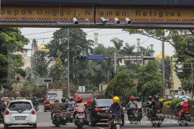 Ganjil genap Jalan Margonda Depok diprediksi memperlancar 50% lalu lintas akhir pekan