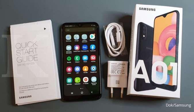 Harga hp Samsung tipe Galaxy A dibanderol terjangkau, pas untuk yang lagi berhemat