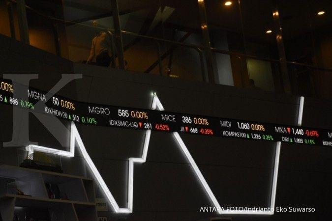 Enam saham naik, ini 10 saham LQ45 dengan PER terkecil (10 Januari 2019)