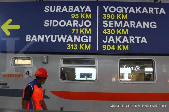 KAI: Pelayanan kereta api pada masa peniadaan mudik berjalan lancar
