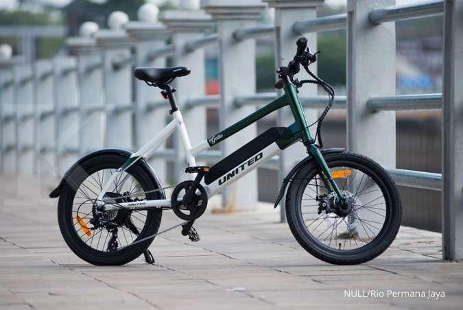 Harga sepeda lipat United e-bike