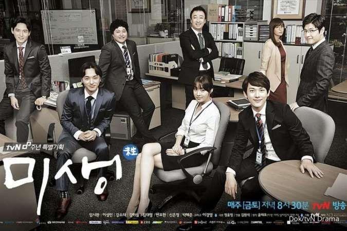 Drakor Misaeng masuk daftar drama Korea terbaik sepanjang masa yang didominasi tvN.