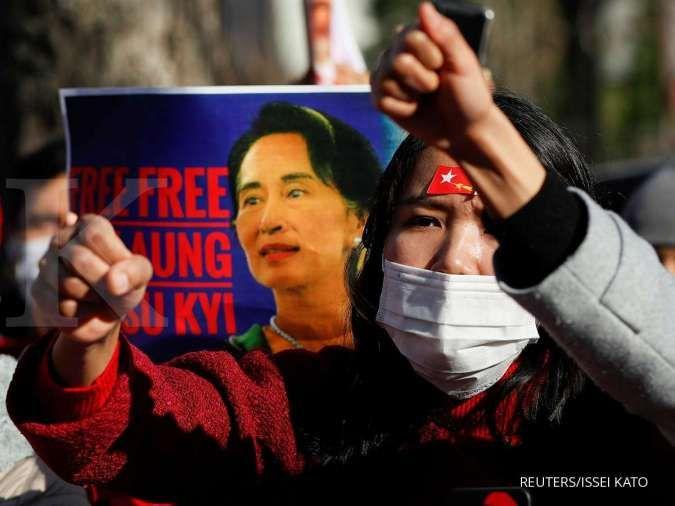 Aung San Suu Kyi didakwa melanggar undang-undang rahasia