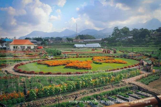 Kebun Bunga Refugia, tempat wisata teranyar di Magetan