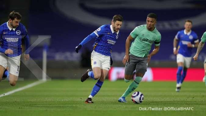Brighton vs Everton: Seri 0-0, The Toffees gagal raih poin penuh kontra The Seagulls