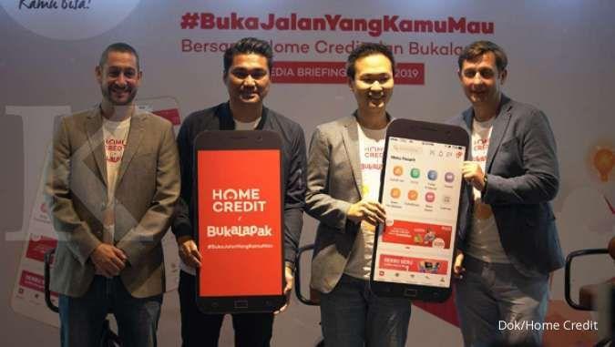 Salurkan pendanaan multiguna, Home Credit gandeng Bukalapak