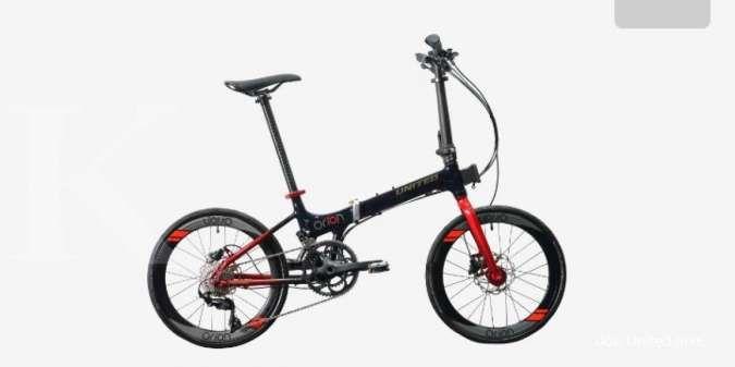Gesit dan lincah! Harga sepeda lipat United Orion Vol 2 tidak terlalu mahal
