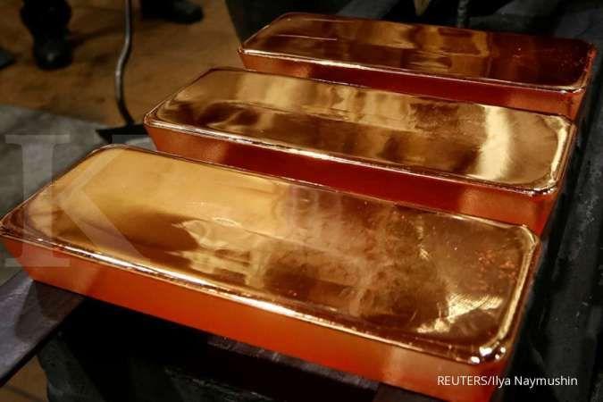Kekhawatiran virus corona meluas, investor malah tinggalkan emas