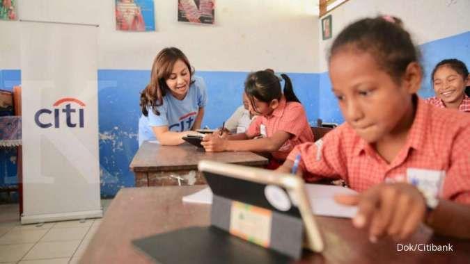 Rayakan Hari Anak Nasional, Citibank berikan edukasi ke Papua