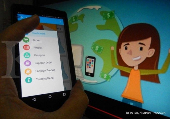 Pionir toko online berbasis android