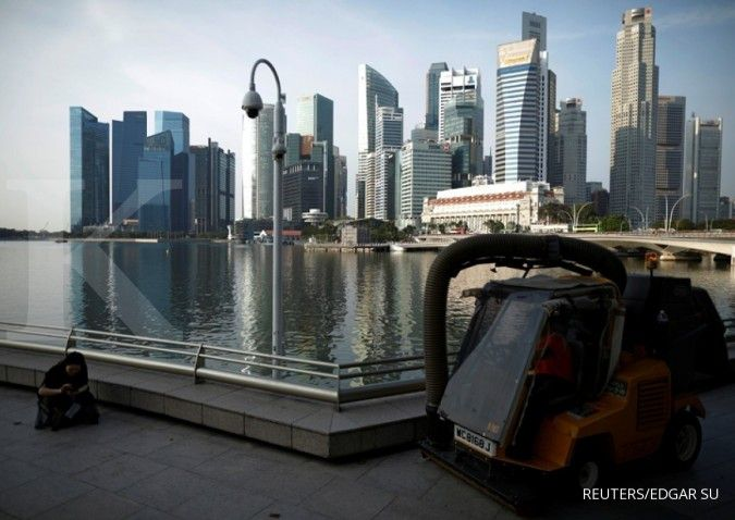 Kuartal III, tingkat sewa kantor di Singapura mengalami penurunan terdalam 11 tahun