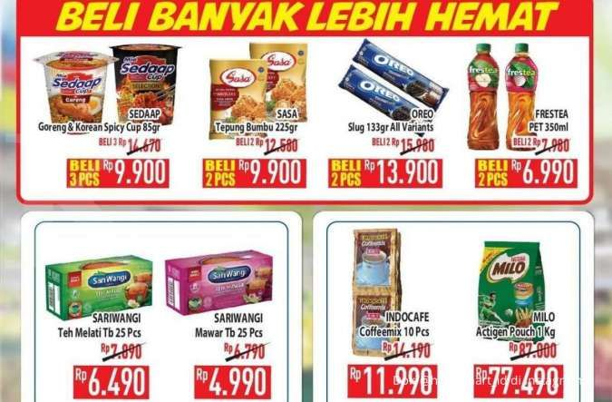 Promo Hypermart 14 Oktober 2021, beli banyak lebih hemat di hyper diskon weekday