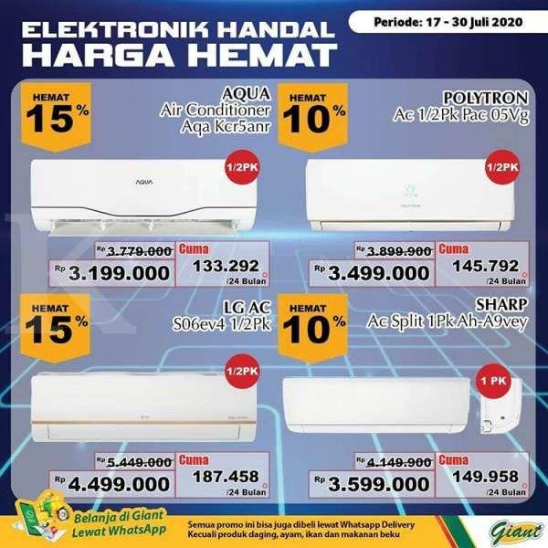 Katalog Promo Giant 17 30 Juli 2020 Tawarkan Produk Elektronik Harga Hemat
