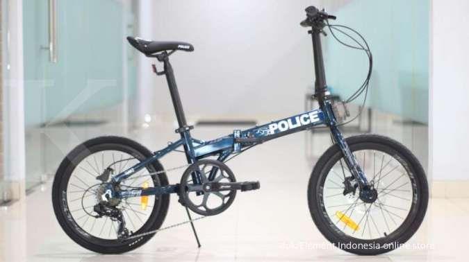 Gebyar diskon belum berakhir, ini harga sepeda lipat Police Texas L terkini