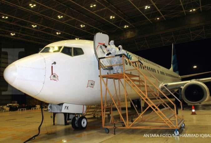Saham Garuda Maintenance Facility Aero Asia (GMFI) masuk pemantauan khusus BEI