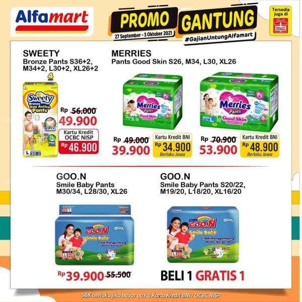 Promo Alfamart 27 September-3 Oktober 2021