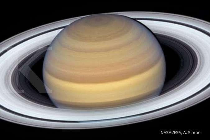 Geser posisi Jupiter, Saturnus punya 20 satelit yang baru terungkap
