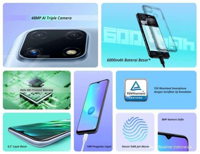 Spesifikasi Realme C25s