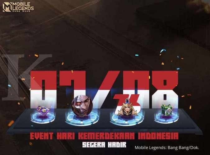 Event Hari Kemerdekaan Indonesia Mobile Legends berhadiah skin permanen, kapan mulai?