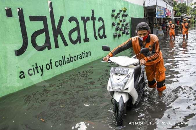 Ini panduan kesiapsiagaan potensi banjir bandang Jakarta dua hari ke depan