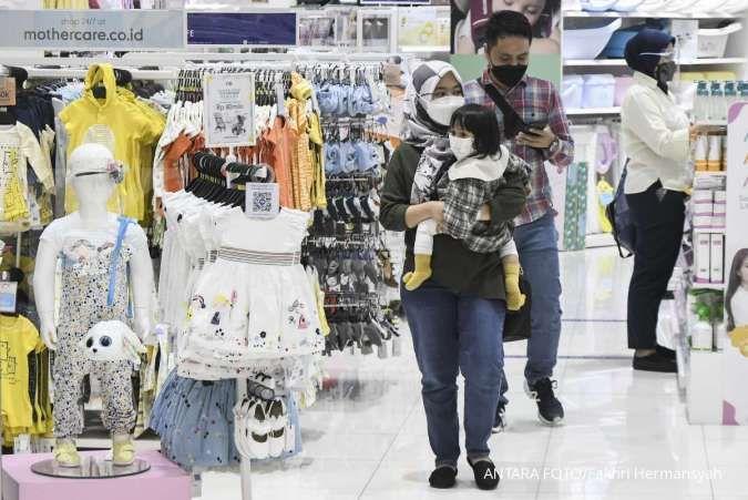 PPKM dilonggarkan, tingkat kunjungan ke pusat perbelanjaan naik perlahan