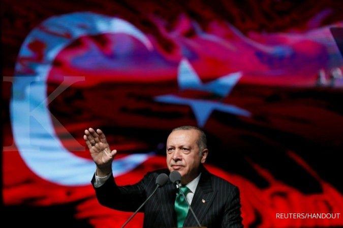 Tantang AS, Erdogan: Apa pun sanksi yang mungkin diberikan ke Turki, jangan ditunda