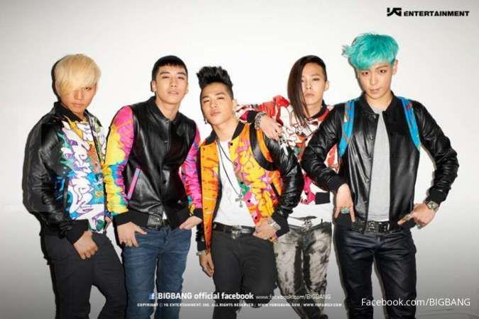 Bigbang perbaharui kontrak, saham YG Entertainment hanya turun tipis ke 25.150 won