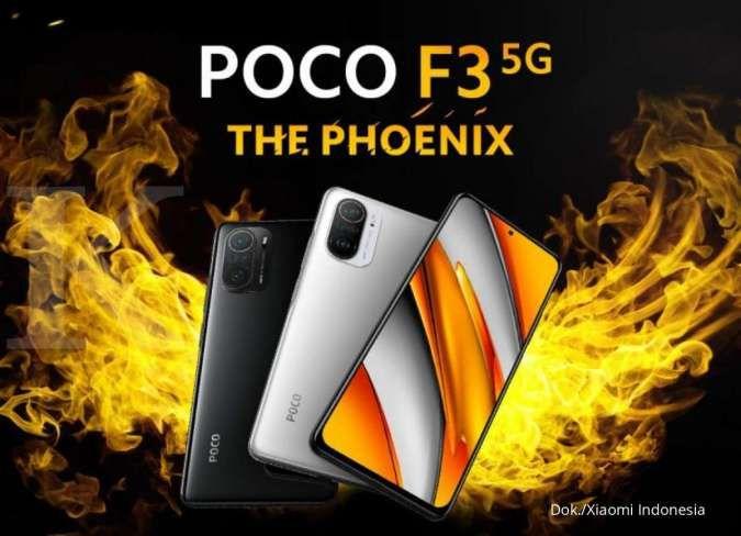 Flagship killer yang ekonomis, harga HP POCO F3 dibanderol hanya Rp 5 jutaan