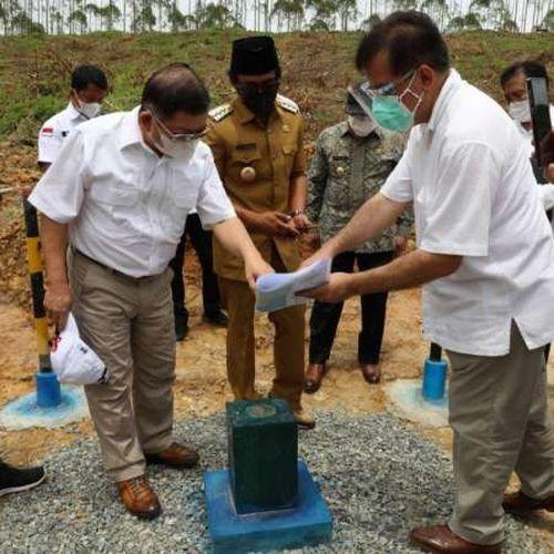74 Tahun Bappenas, Menteri Suharso Kunjungi Titik Nol Pembangunan dan Lokasi Istana Negara di Ibu Kota Negara