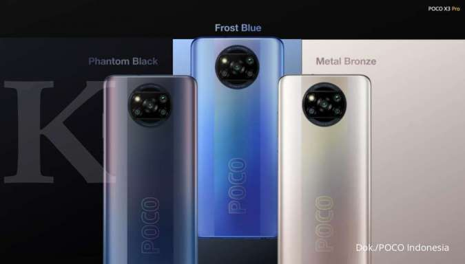 Spesifikasi dan harga HP POCO X3 Pro