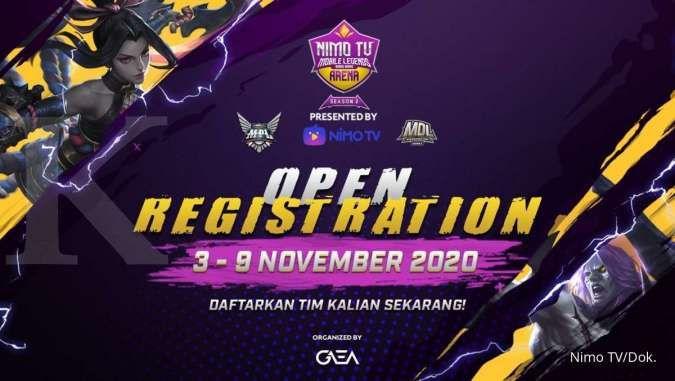 Resmi dibuka, berikut cara registrasi turnamen Mobile Legends NMA Season 2