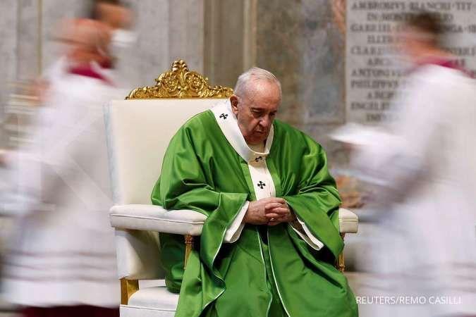 Inilah pesan Natal Paus Fransiskus untuk umat Kristiani