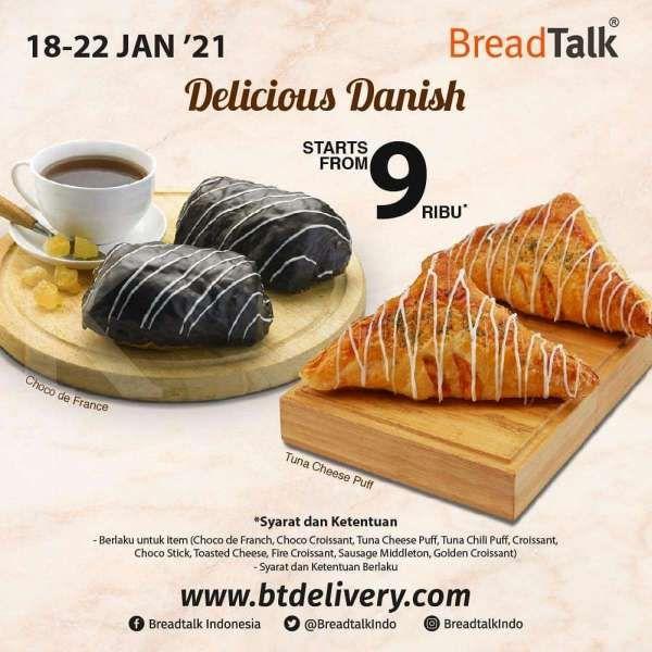 Promo BreadTalk 18-22 Januari 2021