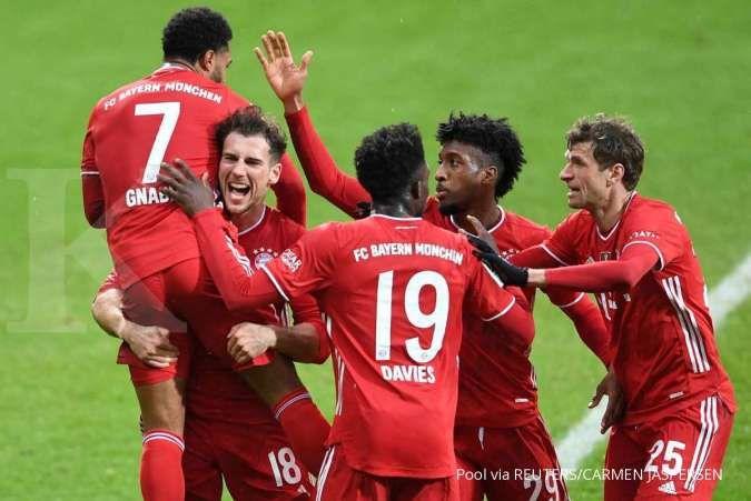 Jelang laga Bayern Munchen vs Lazio di Liga Champions