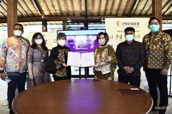 Kejar target KPR non subsidi, BTN gandeng Premier Qualitas Indonesia