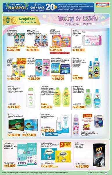 Promo Indomaret 28 April - 4 Mei 2021