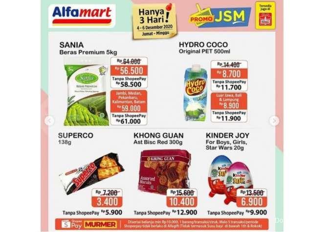 Promo JSM <a href='https://solo.tribunnews.com/tag/alfamart' title='Alfamart'>Alfamart</a> Promo 4-6 Desember 2020