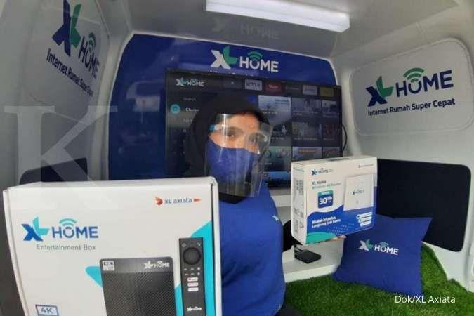 XL Axiata (EXCL) akan menggandakan jumlah home pass XL Home pada 2021
