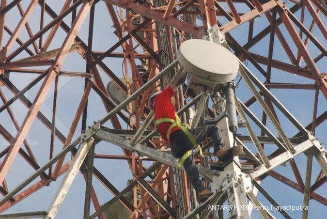 Telkom (TLKM) menyiapkan Mitratel jadi perusahaan menara terbesar