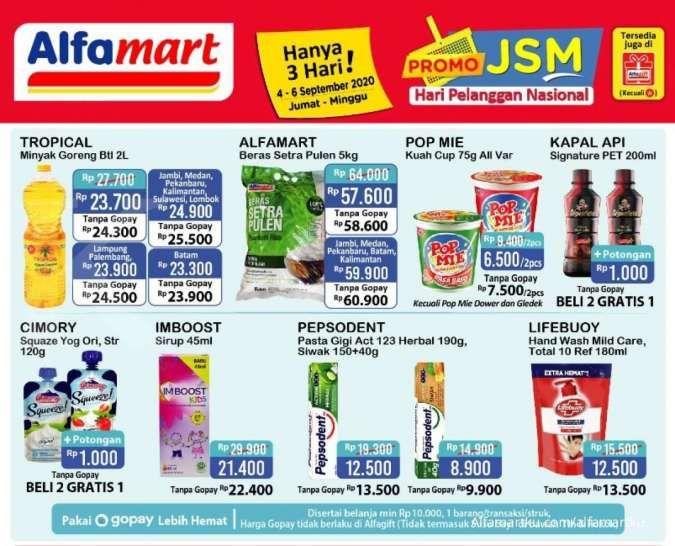 Promo Jsm Alfamart 4 6 September 2020 Diskon Weekend Ini