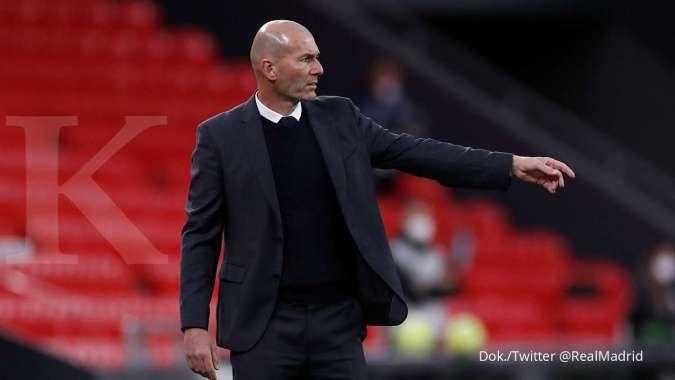 Raul Gonzalez siap gantikan Zinedine Zidane saat hengkang dari Real Madrid