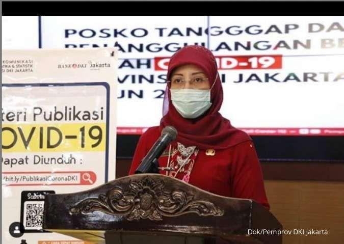 Corona di Jakarta Senin (14/6) melonjak 2.722 seiring masuknya varian covid India
