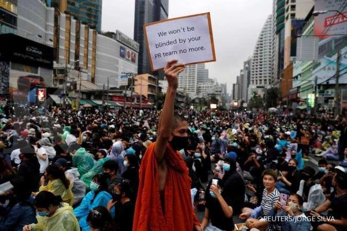 Hampir 6.000 personil Polisi di Thailand disiagakan untuk amankan aksi demonstrasi