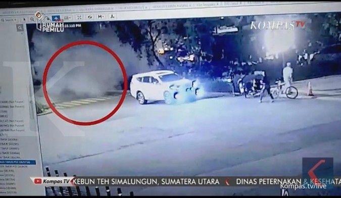 Polisi buru pelaku yang meledakkan petasan di Parkir Timur GBK