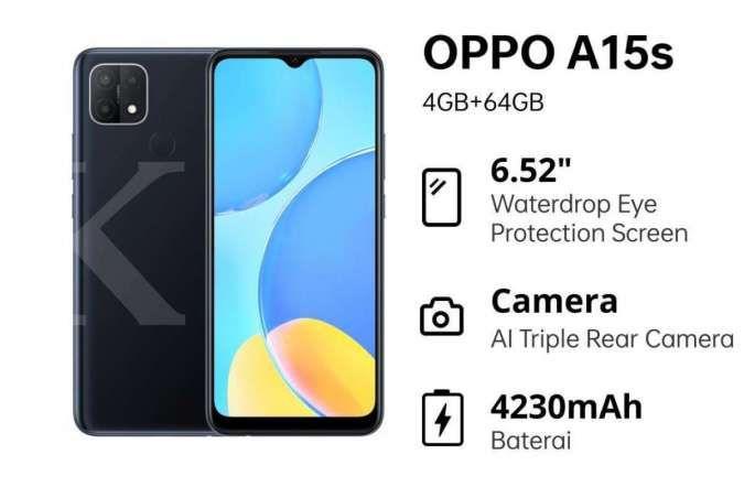 Spesifikasi OPPO A15s