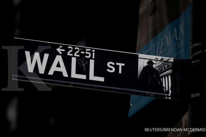 Wall Street naik tiga hari beruntun, mayoritas kinerja emiten di atas prediksi