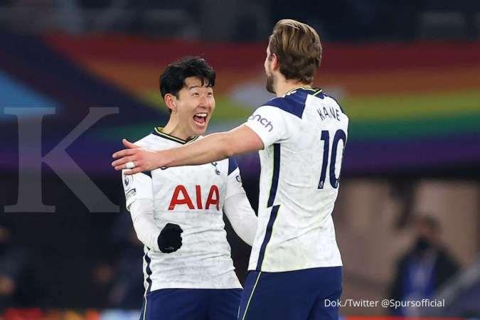 Tottenham vs Crystal Palace di Liga Inggris