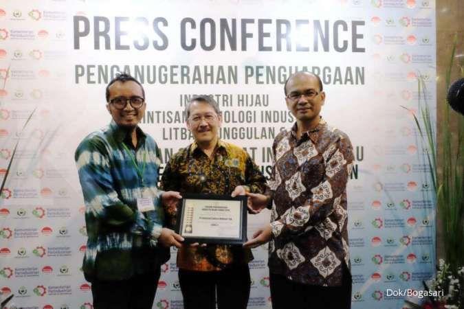 Kemenperin beri penghargaan industri hijau kepada Bogasari