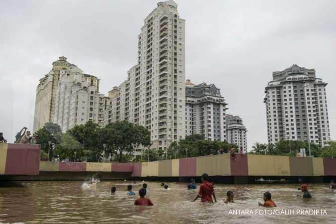 Ini penyebab banjir Jakarta menurut BMKG